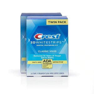 Classic Vivid Whitestrips Twin Pack