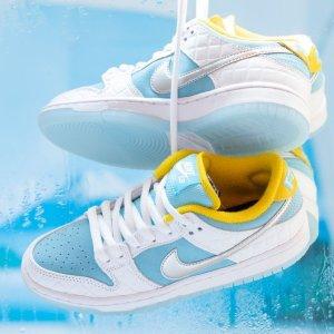 定价$145 月底发售预告:FTC x Nike Dunk SB 合作款 Snkrs已上架