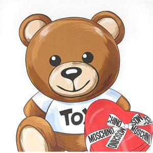 低至2折+额外8折  £91就收小熊T恤折扣升级:Moschino 折扣区全面上新 酷潮小熊全上线 收卫衣、T恤、包包等