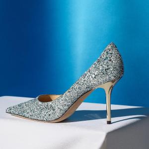 每满$200减$50  水晶高跟 $475入Jimmy Choo 女士高跟、平底、凉鞋等