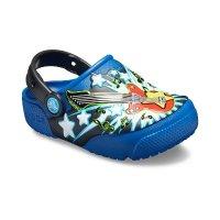 Crocs 儿童吉他闪灯鞋