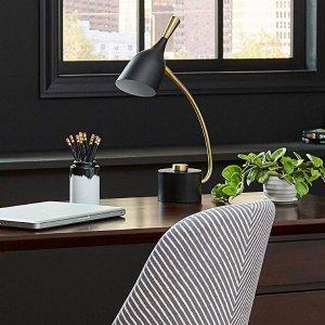$18.10史低价:Rivet 现代风设计感台灯