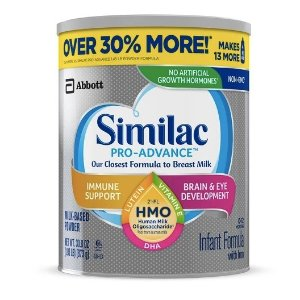 买2送$10礼卡Target 有Similac, Enfamil 等品牌婴幼儿奶粉热卖