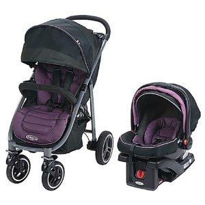$159.99 亚马逊售价$300+史低价:葛莱Aire4 XT 儿童推车+安全座椅套装,3色选