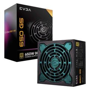 $59.99 10年质保比黑五低:EVGA SuperNOVA 650 G5 650W 80Plus 金牌 全模组电源