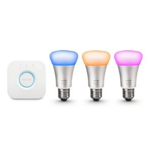 $99.99翻新 Philips Hue 二代可自定颜色智能无线灯具套装 可配合Alexa