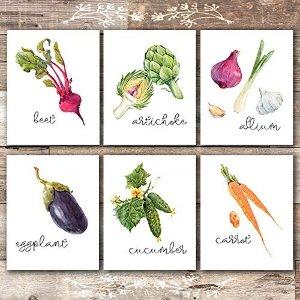 蔬菜主题挂画
