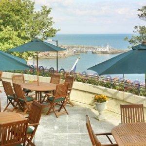 £75起 含早晚餐及酒水Scarborough 斯卡布罗高端海边酒店超值热卖