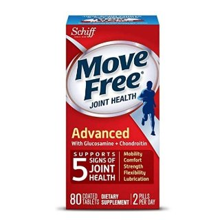 $7.49Move Free Triple Strength Glucosamine Chondroitin and Hyaluronic Acid Joint Supplement, 80 Count