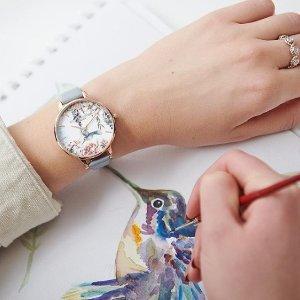 6折!$75收猫头鹰手表Olivia Burton 英伦风手表七夕热卖 找到属于你的少女心