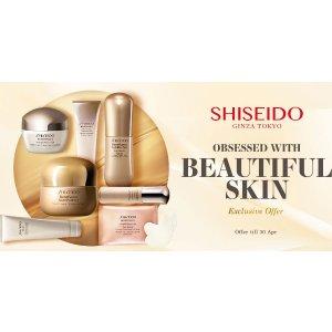 Shiseido专场!香港莎莎官网 Sasa.com 精选护肤品热卖