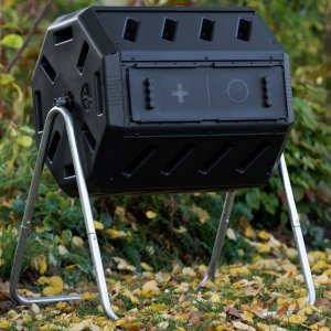 FCMP Outdoor IM4000 Tumbling Composter, 37 gallon