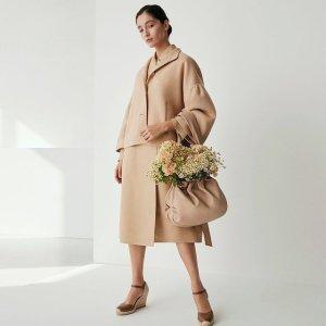无门槛7.5折 大衣$297起Max Mara Weekend系列 羊毛大衣 质地高级 价格亲民