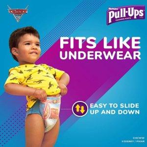 最高立减$3+包邮Huggies Pull-Ups 训练裤和 GoodNites 夜间拉拉裤促销