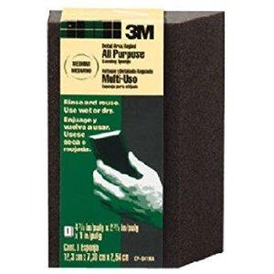 3M CP040-12-CC 4.875 by 2.875 by 1 Inch Sanding Sponge Single Angle, Fine grit - Sanding Blocks - Amazon.com