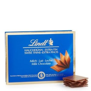 LindtMilk Chocolate Swiss Thins (4.4 oz)