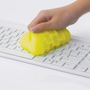 145g仅€5.84 可反复使用Cyber Clean 键盘清理软胶 清理灰尘神器 适用所有电子产品
