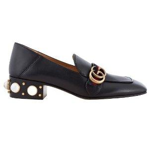 Gucci珍珠福乐鞋