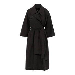 Low ClassicTwo-Way Cotton-Blend Trench Coat