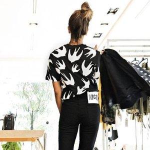 低至3折,51胖收燕子T恤McQ Alexander McQueen 服饰、美鞋、配件等热卖