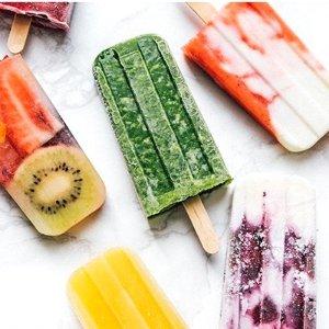 教你简单在家自制冰棍无冰不夏天 低热量高颜值健康冰棍 低糖低卡配料