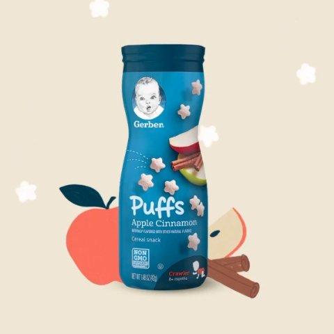 buy 1 get 2nd 50% OffGerber Baby Food & Snacks Sale