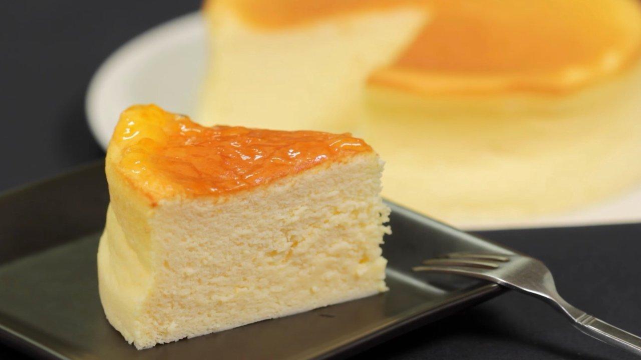 日式轻乳酪蛋糕 | 轻松搞定别样风味的舒芙蕾