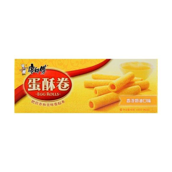 康师傅 蛋酥卷 香浓奶油口味 108g