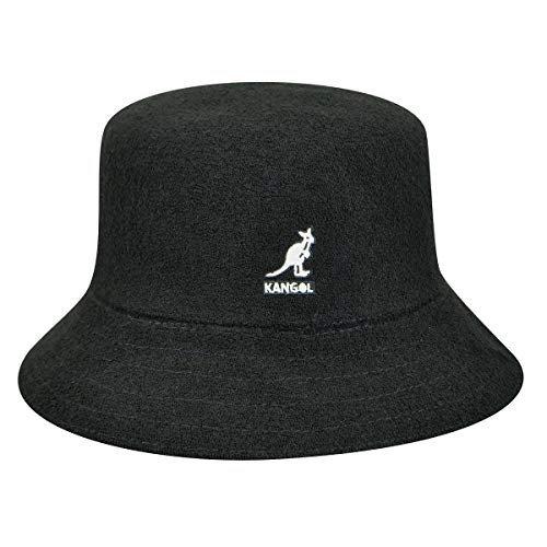 黑色logo渔夫帽