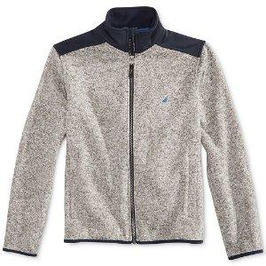 70% Off Nautica Kids Fleece Jackets Sale @ macys.com