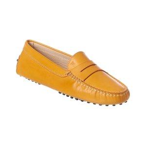 Tod's皮质乐福鞋