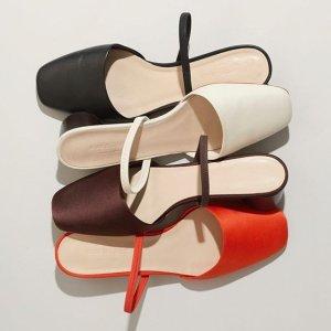 低至5折 + 首单9折 + 免邮Everlane 夏季美鞋热卖 收穆勒鞋、凉鞋