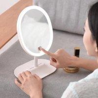 网易严选 指触式LED子母化妆镜