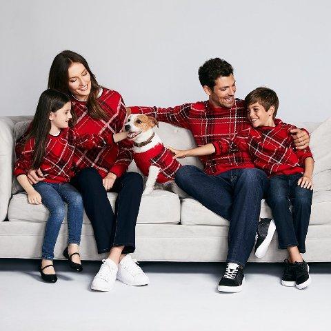 一律5折Macys 精选圣诞风格亲子款毛衣 连宠物都能搭配上