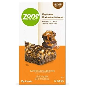 ZonePerfect Protein Bars, Salted Caramel Brownie 36bars
