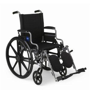 Medline K4 Lightweight Wheelchair with Flip-Back