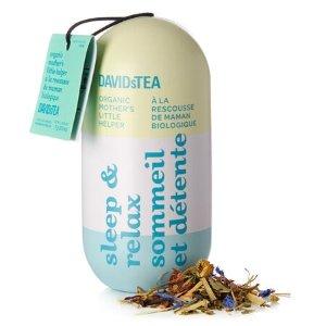 DAVIDsTEA买3件可享优惠安神好眠茶 药丸系列