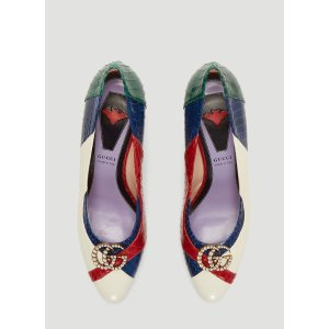 Gucci新款中跟鞋