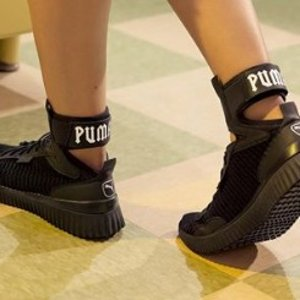 113daa942e27bd FENTY Women s Ankle Strap Sneaker · Hot Picks. FENTY Trainer Mid Geo  Sneakers