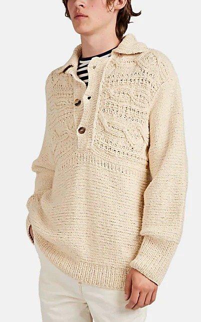 Mixed-Knit 毛衣