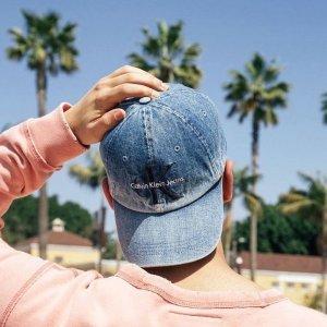 低至6折限今天:Calvin Klein 帽子、腰带等饰品特卖,真皮腰带$27收