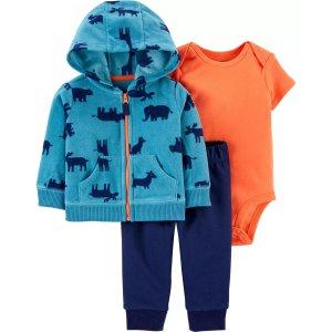 Carter's婴儿含外套三件套