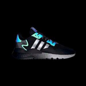Adidas太好看了!买它!!Nite Jogger 渐变底反光跑鞋
