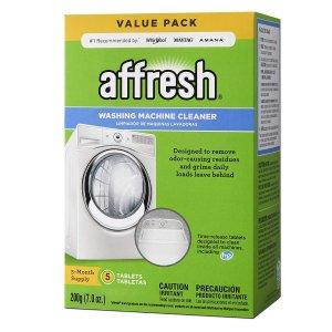 $9.98 包邮Affresh 洗衣机清洁剂 5颗装