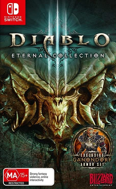《Diablo大菠萝 III:永恒典藏版》Nintendo Switch 实体版