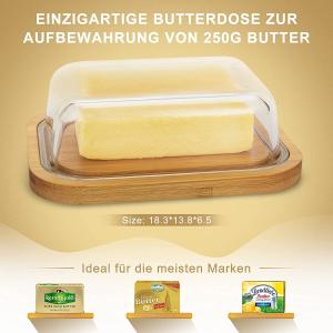 折后€14.99 原价€19.99Vemingo 黄油保鲜盒 吃多少取多少 不干不变质 黄油党必备