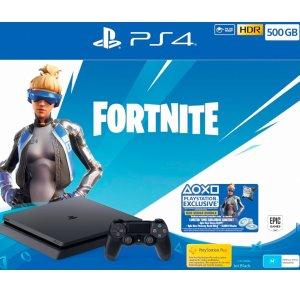 $389(原价$439.95)堡垒之夜套装Sony PlayStation 4 Slim 500GB 游戏主机