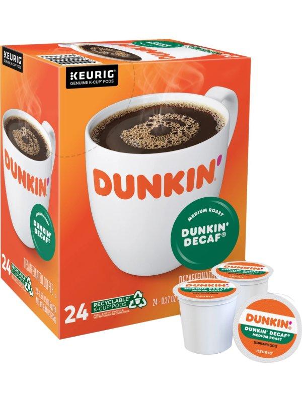 K-Cup Decaffeinated 咖啡胶囊 24颗