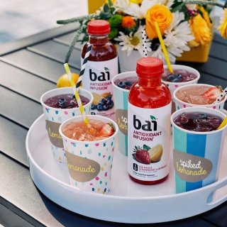 $11.2Bai Flavored Water 18 Fluid Ounce Bottles, 12 count