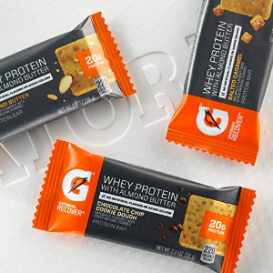 $7.97 Gatorade Whey Protein With Almond Butter Bars, Salted Caramel, 12 Count